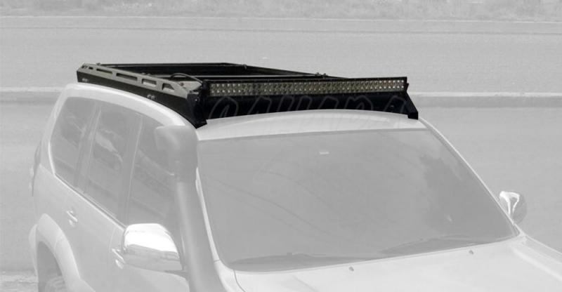 Porta equipajes ecotech para Toyota 120 5 puertas - Porta equipajes+Bandeja+Portafaros.Válida para Land cruiser 120 5 puertas. Pulse para ver toda la información.