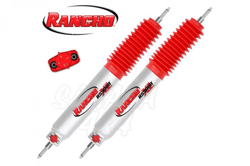 Kit 4 Amortiguadores Rancho RS 9000 XL Regulables 9 posiciones Jeep Grand Cherokee ZJ/ZG - Tarado regulable 9 posiciones