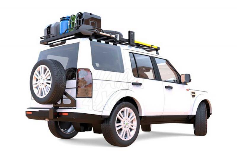 Soporte rueda de recambio para  Land Rover Discovery III /IV - Fabricado en acero