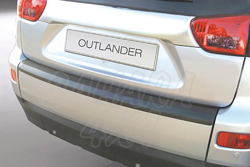 Protector Paragolpes Trasero para Mitsubishi Outlander 2007-2012 - La solución para proteger la parte superior del paragolpes trasero