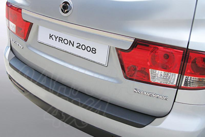Protector Paragolpes Trasero para SsangYong Kyron 2008- - La solución para proteger la parte superior del paragolpes trasero