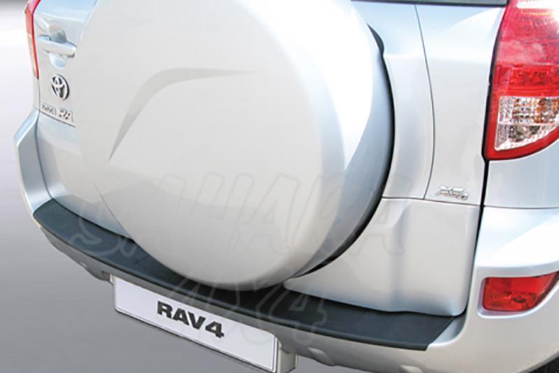 Protector Paragolpes Trasero para Toyota RAV 4 2006-2007 - La solución para proteger la parte superior del paragolpes trasero