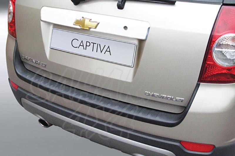 Protector Paragolpes Trasero para Chevrolet Captiva 2006-2013 - La solución para proteger la parte superior del paragolpes trasero
