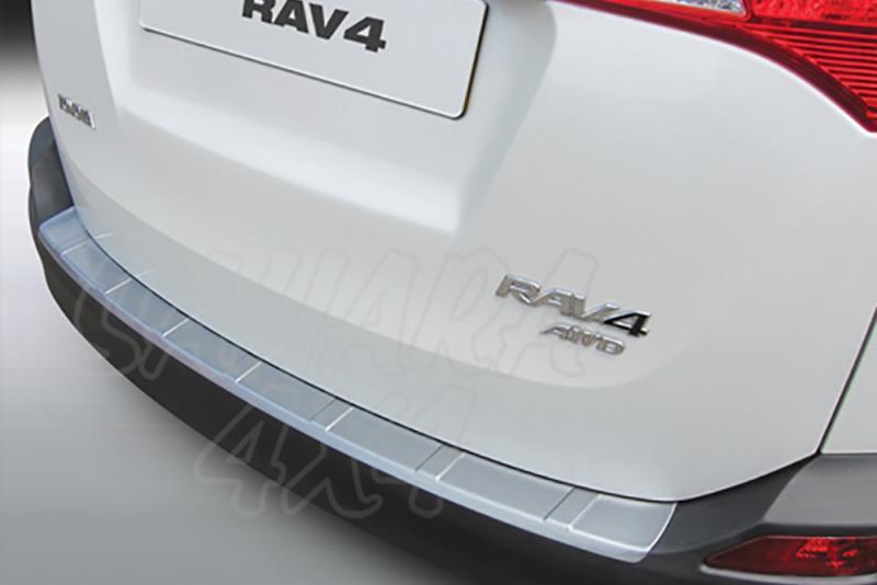 Protector Paragolpes Trasero para Toyota RAV 4 5DR 2013-2016 - La solución para proteger la parte superior del paragolpes trasero