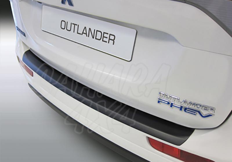 Protector Paragolpes Trasero para Mitsubishi Outlander 2015- - La solución para proteger la parte superior del paragolpes trasero