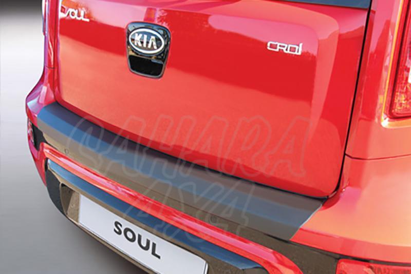 Protector Paragolpes Trasero para Kia Soul 2011-2014 - La solución para proteger la parte superior del paragolpes trasero