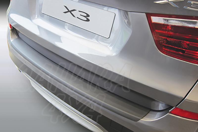 Protector Paragolpes Trasero para BMW X3 2014- - La solución para proteger la parte superior del paragolpes trasero