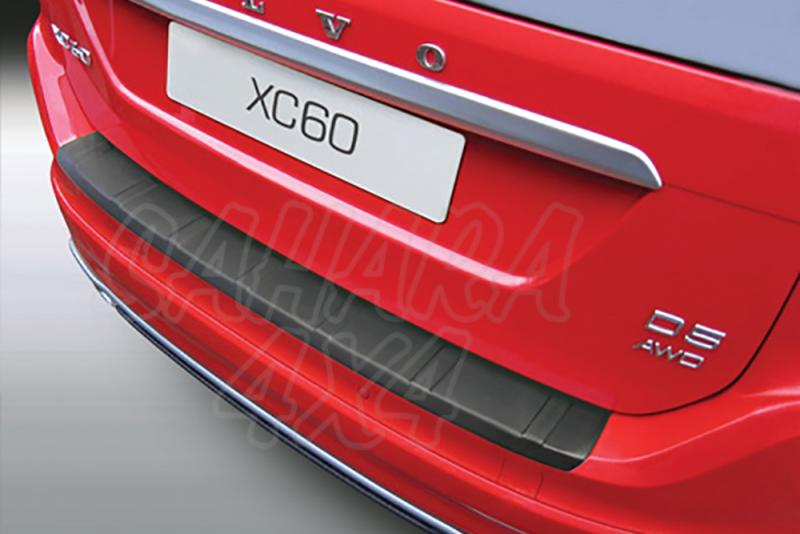 Protector Paragolpes Trasero para Volvo XC60 2013- - La solución para proteger la parte superior del paragolpes trasero