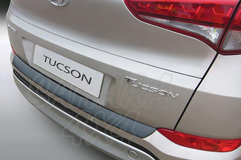 Protector Paragolpes Trasero para Hyundai Tucson 2015- - La solución para proteger la parte superior del paragolpes trasero