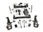 Kit elevacion Rough Country 10.16 cm Dodge Ram 1500 4WD 06-08 - Kit Completo