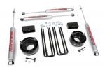 Kit elevacion Rough Country 5.08 cm Dodge Ram 1500 94-01 - Kit Completo