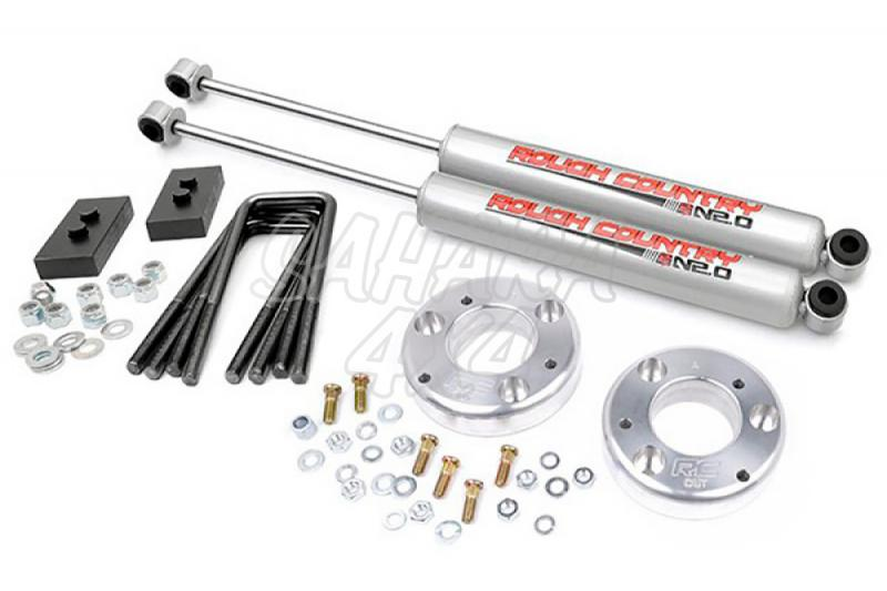Kit de elevacion +6.35 cm Rough Country- Ford F150 4WD 09-13