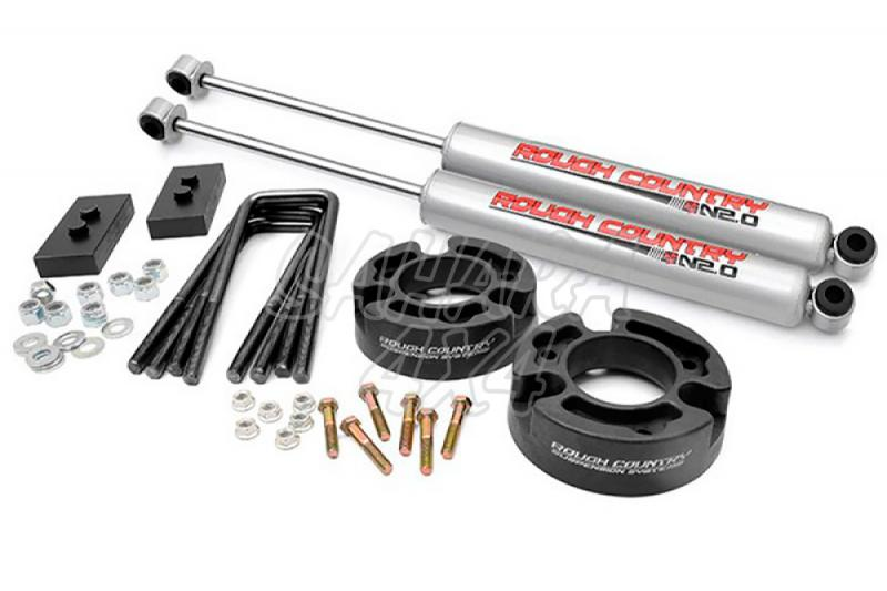 Kit de elevacion +6.35 cm Rough Country- Ford F150 4WD 04-08