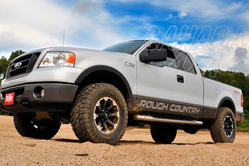 Kit de elevacion +6.35 cm Rough Country- Ford F150 4WD 04-08 - Ford F150 4WD 04-08