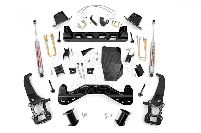 Kit de elevacion +15.24 cm Rough Country- Ford F150 4WD 04-08