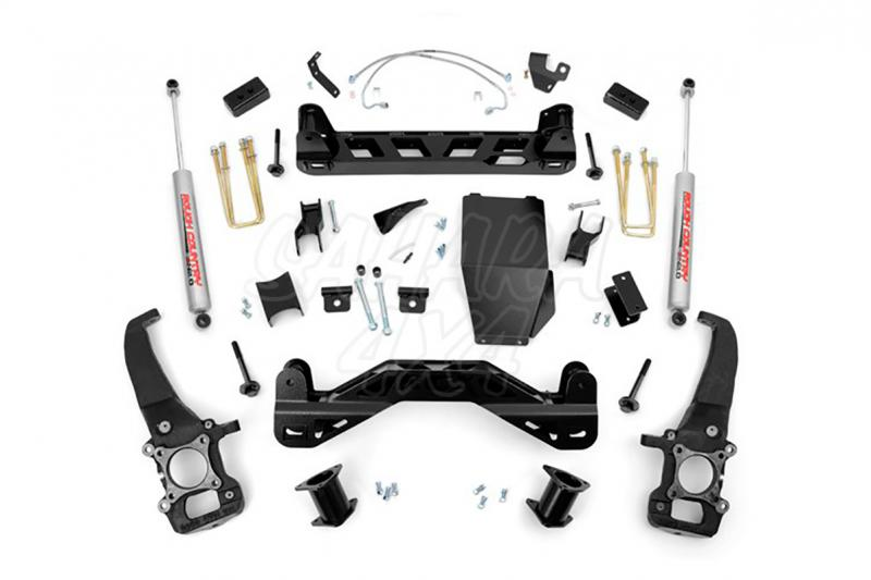 Kit de elevacion +10.16 cm Rough Country- Ford F150 4WD 04-08