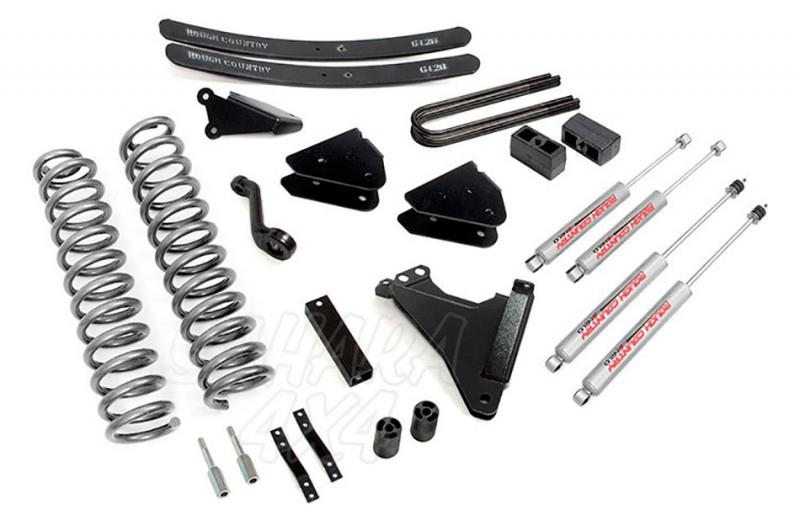 Kit de elevacion +15.24 cm Rough Country- Ford F350 4WD 05-07 - Ford F350 4WD 05-07