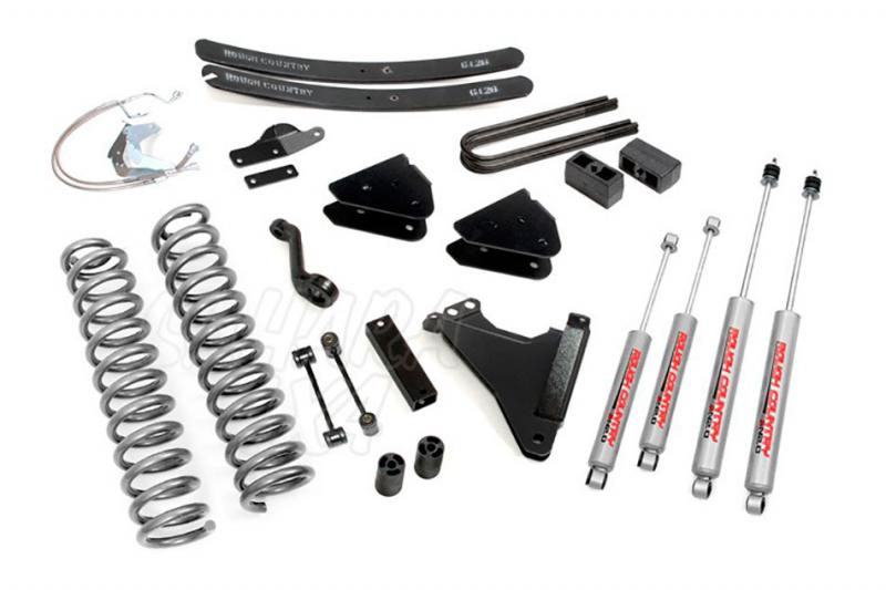 Kit de elevacion +15.24 cm Rough Country- Ford F250/350 4WD 08-10 - Ford F250/350 4WD 08-10