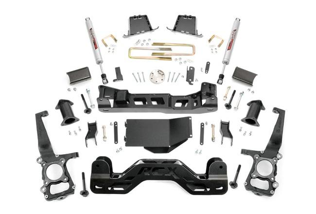 Kit de elevacion +15.24 cm Rough Country- Ford F150 4WD 09-10