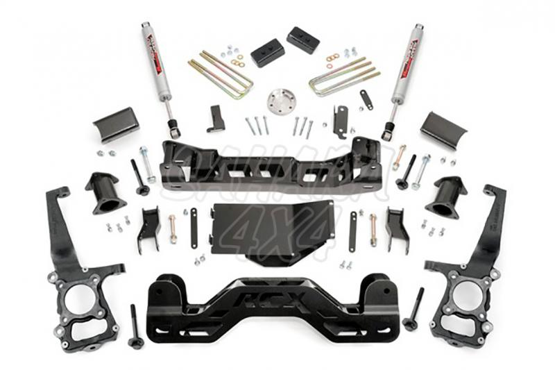 Kit de elevacion +10.16 cm Rough Country- Ford F150 4WD 09-10