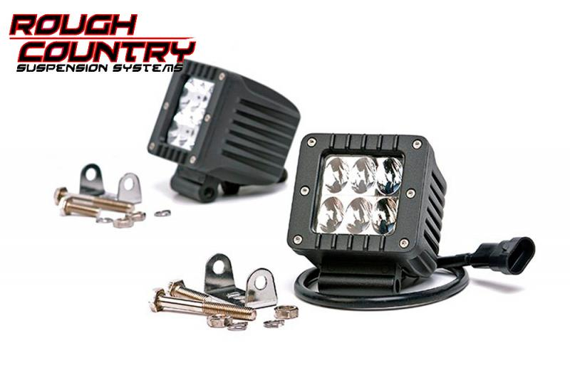 Faros de Led  Rough Country (Pareja) - Pareja , 36w, 2880 Lumens
