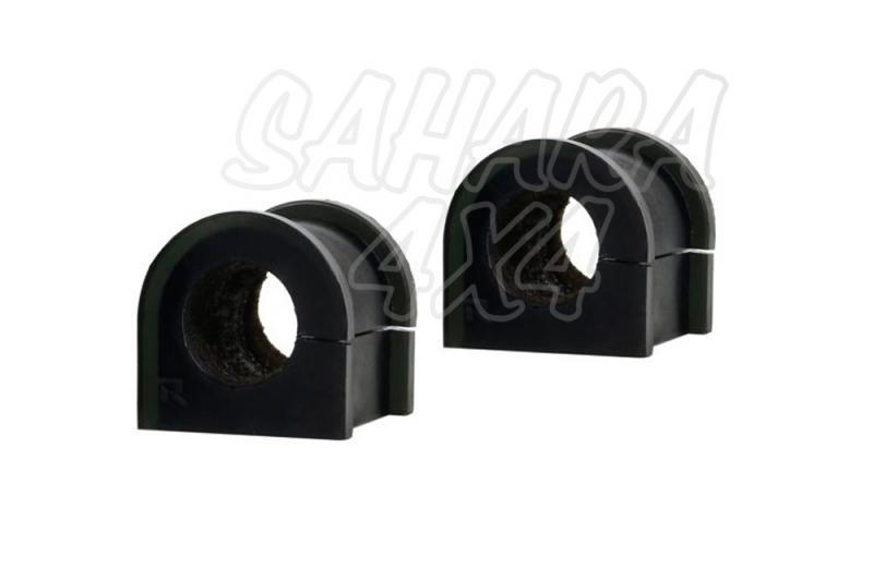 Nº17 Casquillos Poliurethano Nolathane estabilizadora trasera 21 mm - Kit de 2 casquillos