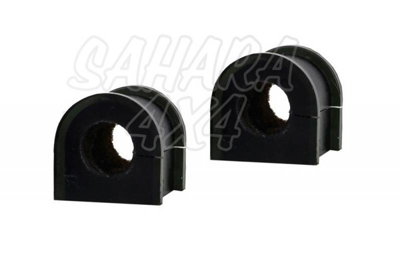 Nº17 Casquillos Poliurethano Nolathane  estabilizadora trasera 19 mm - Kit de 2 casquillos