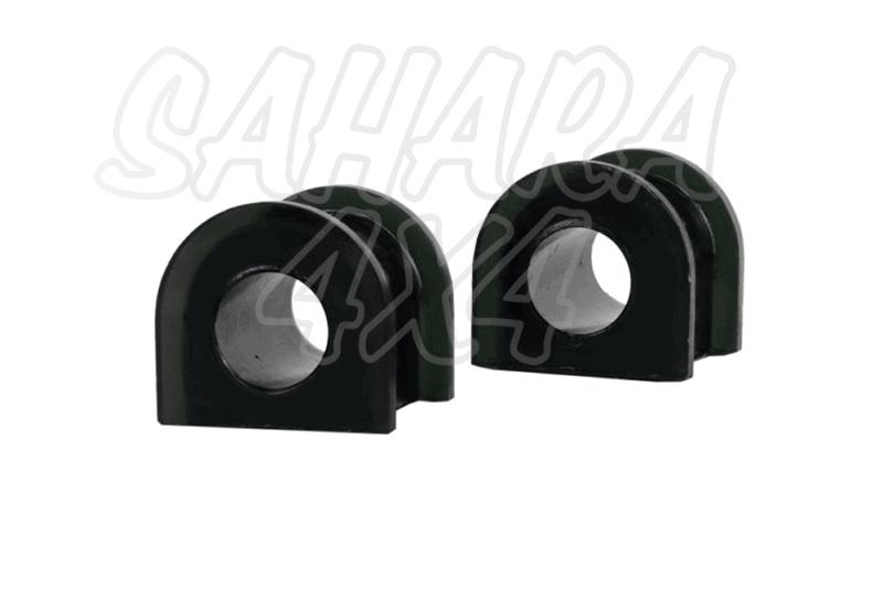 Nº08 Casquillos Poliurethano Nolathane estabilizadora delantera 19mm  - 19mm - para anclaje de  32mm