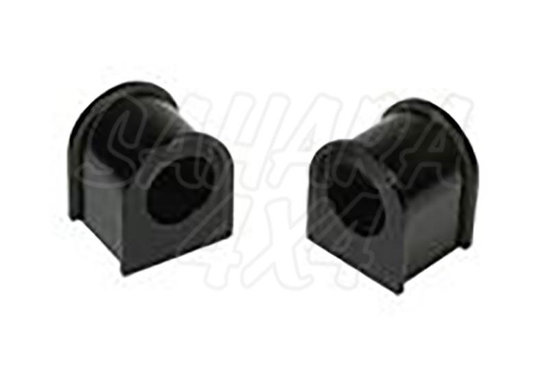 Nº17 Casquillos Poliurethano Nolathane  estabilizadora trasera Nissan Terrano - Kit de 2 casquillos, 25 mm barra