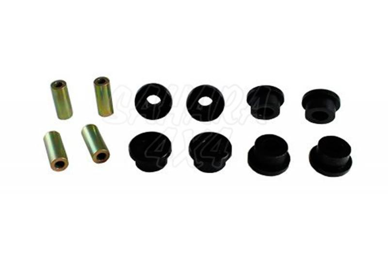 Nº10 Casquillos Poliurethano Nolathane Tirantes Traseros Superiores. - Kit de 4 casquillos