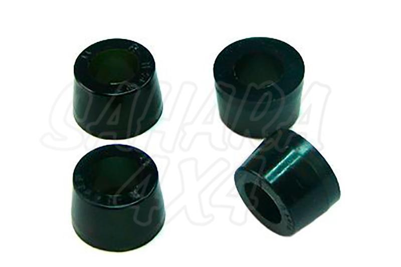 Nº14 Casquillos Poliurethano Nolathane Amortiguador trasero Superior - Kit de 4 casquillos ,