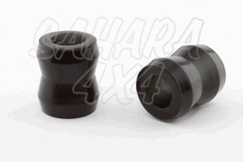 Nº14 Casquillos Poliurethano Nolathane Amortiguador trasero Superior - Kit de 2 Casquillos.