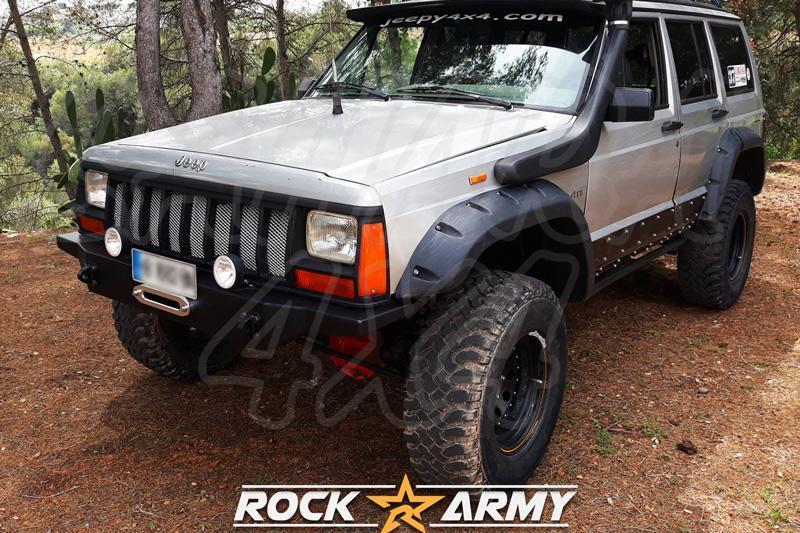 Paragolpes delantero con base para cabrestante para Jeep Cherokee XJ GASOLINA - Motor GASOLINA