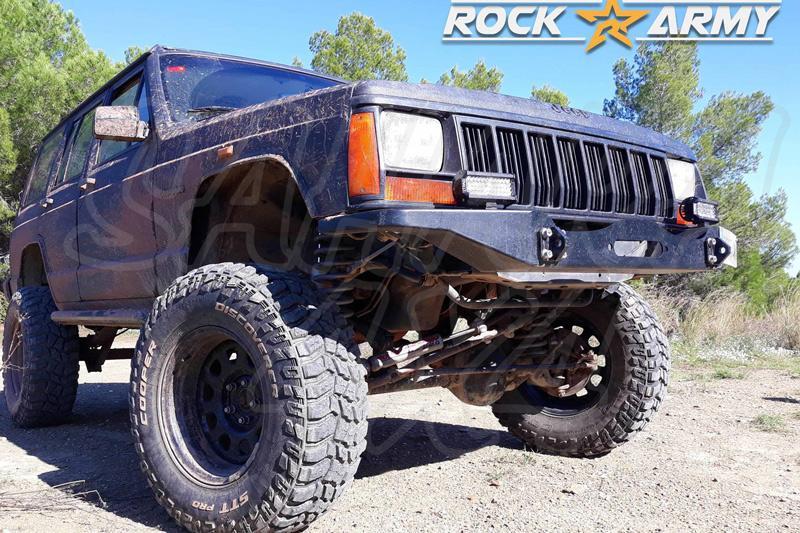 Paragolpes delantero con base para cabrestante para Jeep Cherokee XJ DIESEL  - Motor DIESEL