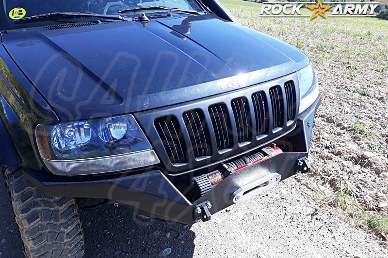 Paragolpes delantero XT con base para cabrestante y protector para Jeep Grand  Cherokee WJ WG
