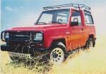 Cubrecarter Daihatsu Rocky I & II - En acero de 3mm para Daihatsu Rocky I & II