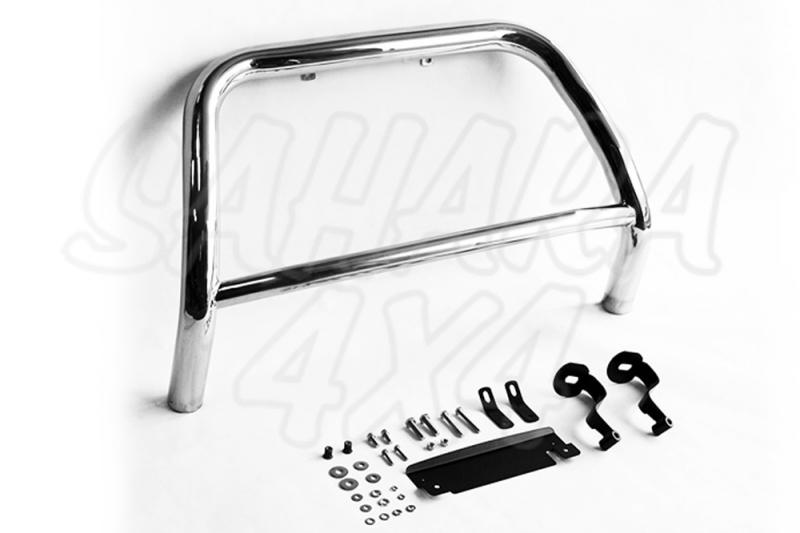Defensa central ROMIK inox Ø60mm. Homologación CE para Suzuki Grand Vitara  -