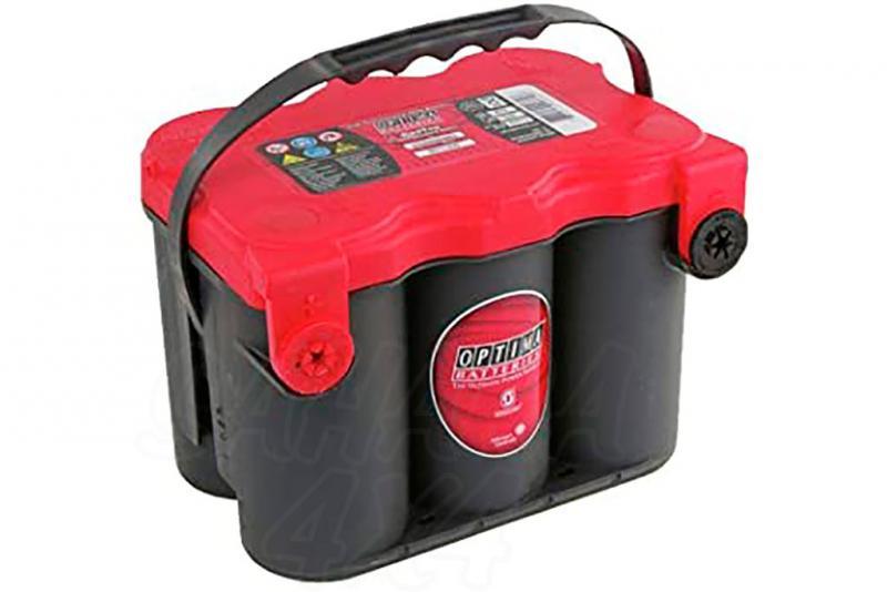Bateria optima 4.2 red top bateria gel RTF4.2 12v (50Ah - 815A)