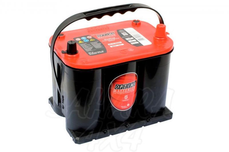 Bateria optima 3.7 red top bateria gel RTR3.7 12v (44Ah - 730A)