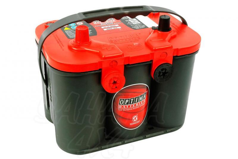 Bateria optima 4.2 red top bateria gel RTU4.2 12v (50Ah - 815A)