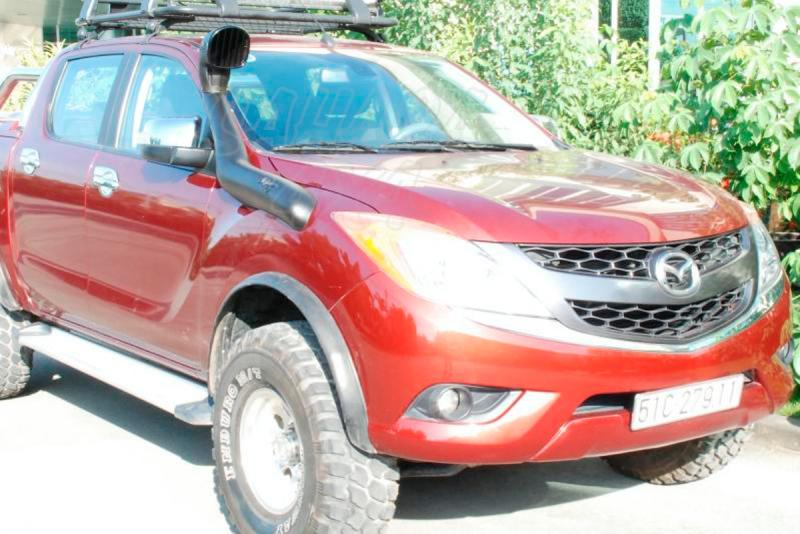 Snorkel Airflow Mazda BT50 2011- - Snorkel Airflow, Made in Australia.