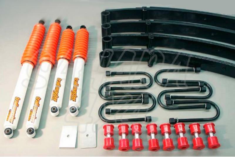 Kit de suspensión Trail master Wrangler YJ + 50mm - Jeep Wrangler YJ, +50mm