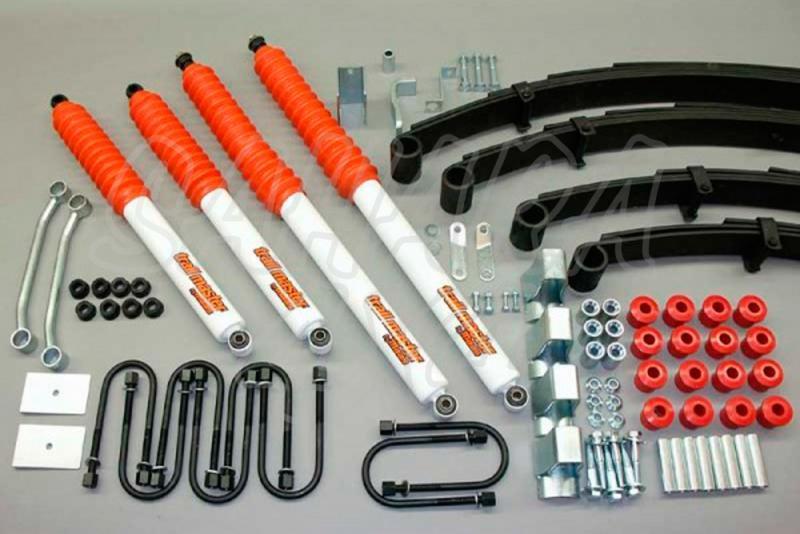 Kit de suspensión Trail master Wrangler YJ + 100mm - Jeep Wrangler YJ, +100mm