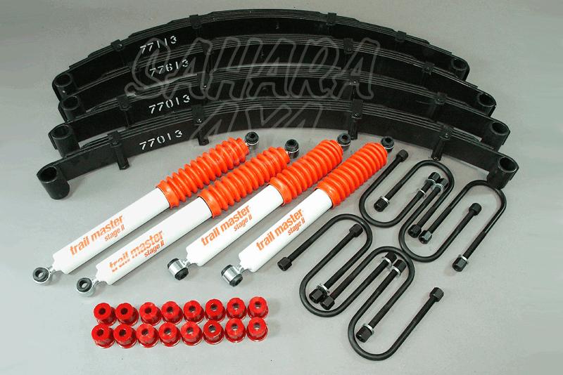 Kit Trail Master Completo Toyota BJ 40 /42 +60 mm - Kit Completo con amortiguadores.
