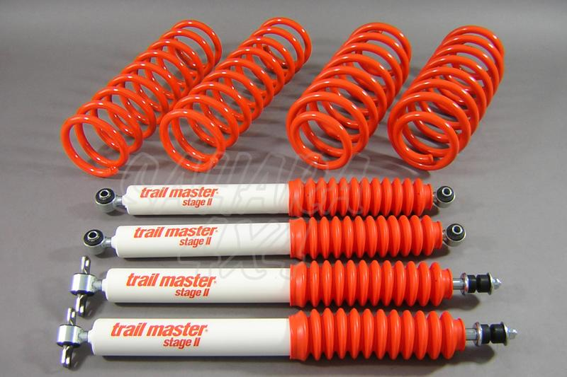 Kit de suspensión Trail master para Jeep Grand Cherokee WJ + 50 mm - Jeep Grand Cherokee WJ, +50mm (Diesel y Gasolina)