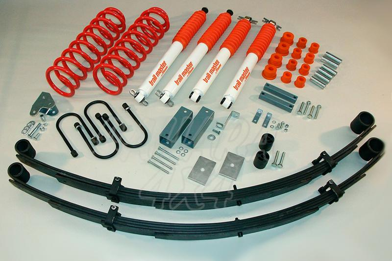 Kit de suspensión Trail master Cherokee XJ + 75 mm - Jeep Grand Cherokee XJ, +75mm