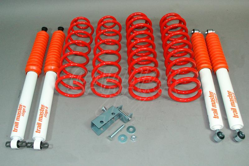 Kit de suspensión Trail master Grand Cherokee ZJ + 75 mm - Jeep Grand Cherokee ZJ, +75mm