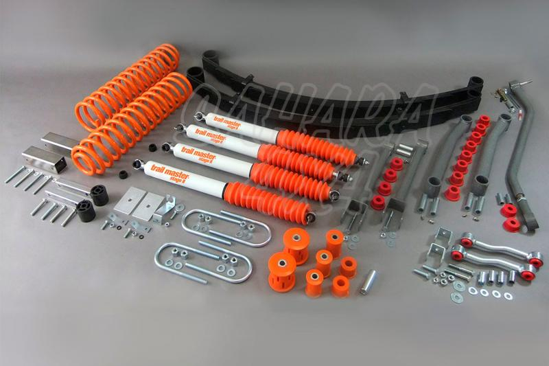Kit de suspensión Trail master Cherokee XJ + 115 mm - Jeep Grand Cherokee XJ, +115mm