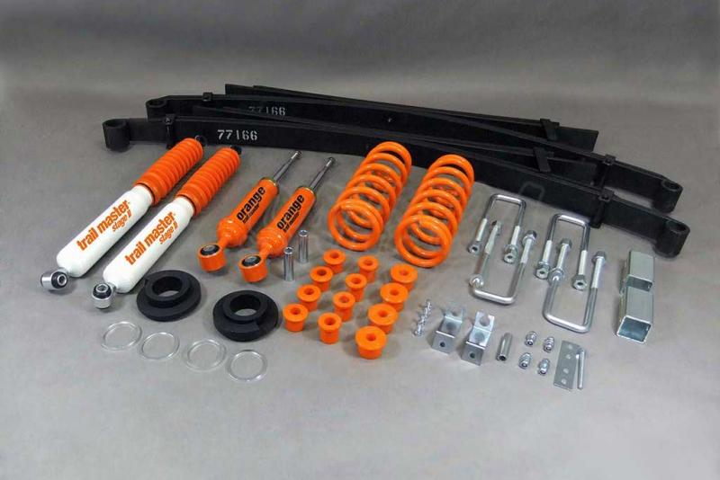 Kit Trail Master Completo Nissan Navara D40 +40/60 mm - Kit Completo con amortiguadores.
