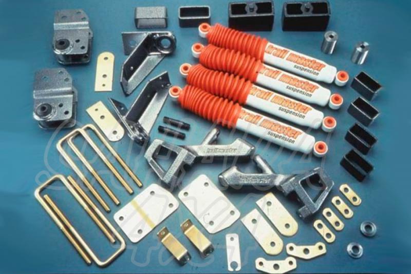 Kit de suspensión Trail master Pick up D21 +100 mm - Nissan Pick up MD21, +100mm  ( 4 cilindros & 6 cilindros )